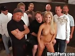 Jasmine Tames Tampa Bukake Gangbang Party With Dirtyd
