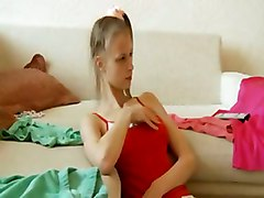Pigtailed Euro Teen Gives Great Blowjob