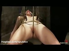 Bound In Crab Position Lorelei Lee Gets Toyed