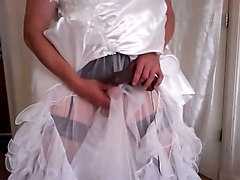 Noires Mariage Robe Gode