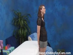 Shy Massage Girl Gives Happy Ending